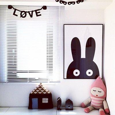 Sis 歐美 北歐 框畫 兒童房 壁畫 簡約 掛畫 時尚 嬰兒房 室內設計 背景 IKEA 家飾品 (33*43)