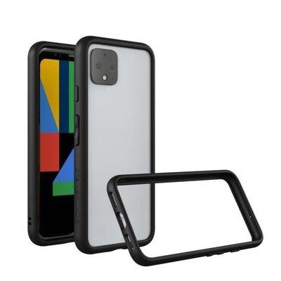 【送玻璃保護貼】邊框 CrashGuard 犀牛盾防摔手機殼,Google Pixel 4 XL - 黑色