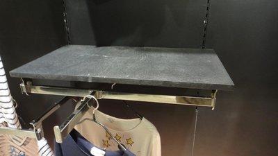 服飾店 包包 精品展示 二手 中古 衣架 展示架 支架 層板架 可調整 直立吊桿 層板