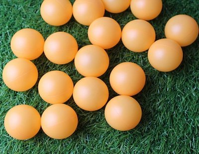 PP4cm橘黃色抽獎球摸彩球彩球摸彩用...