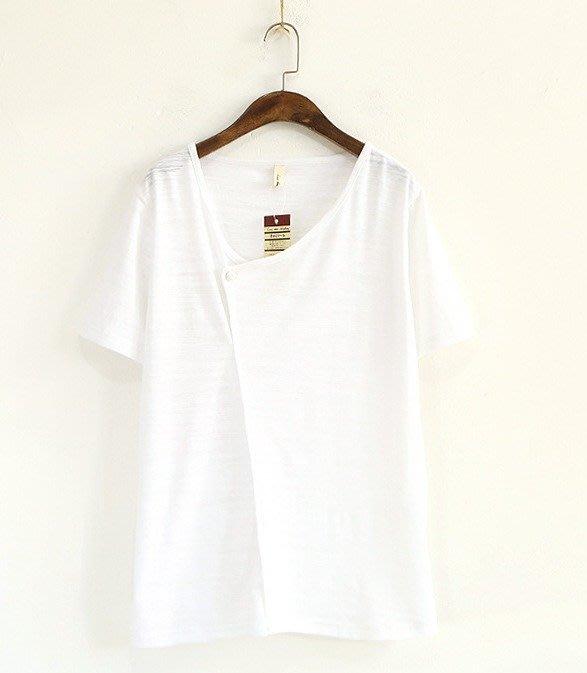 楞宅 ~ 春夏竹節棉短袖T恤上衣 / LG18