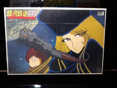 玩具魂*BANDAI出品*銀河鐵道999*東映動畫授權貼*保存完整1999年日本製