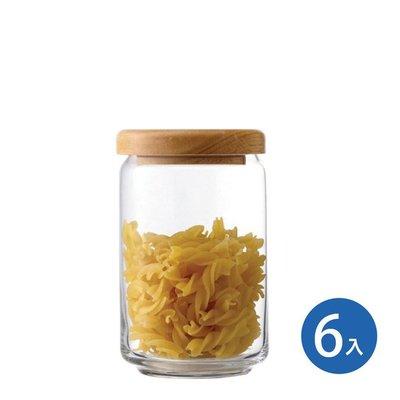 ☘小宅私物☘ Ocean 木蓋儲物罐 750ml (6入) 收納罐 密封罐 玻璃罐 咖啡罐 保鮮罐 現貨附發票