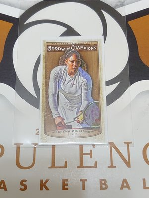 2019 UPPER DECK GOODWIN SERENA WILLIAMS 迷你卡