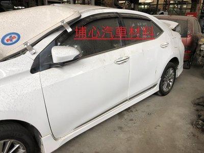 埔心汽車材料 報廢車 豐田 TOYOTA ALTIS 1.8 2014零件車 拆賣