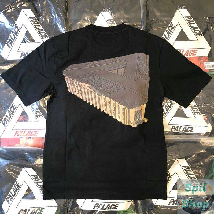 Palace 2018  palazzo t shirt black 黑 三角大厦 M L
