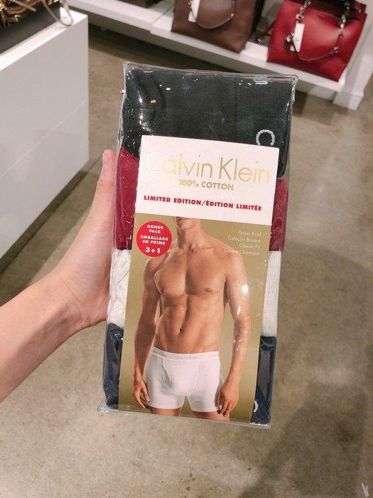 CK男生四角內褲四件組 尺寸S-XL 預購 我愛麋鹿 歐美精品代購 保證真品