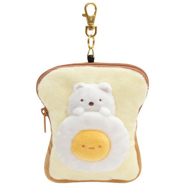 《FOS》2019新款 日本 角落生物 麵包 可愛 背包 吊飾 遊遊卡 證件 車票 錢包 玩具 玩偶 角落小夥伴 禮物