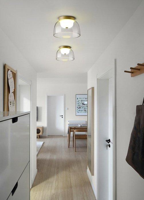 Disc B款中  燈後現代 輕奢客廳燈 北歐 創意個性 臥室房間 餐廳 吸頂燈 LED 110-220V
