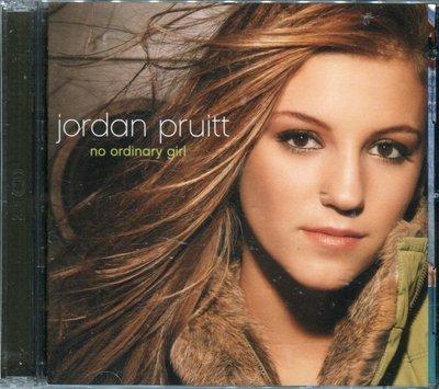【嘟嘟音樂2】喬丹波特 JORDAN PRUITT - 天之驕女 NO ORDINARY GIRL  CD+DVD