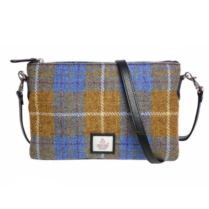 〖洋碼頭〗英國原產進口MACCESSORI哈裏斯彩呢女式小挎包手拿包單肩包 L2845