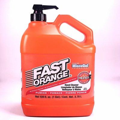 [機油倉庫]美國Permatex Fast Orange Hand Cleaner磨砂型洗手液 黑手膏 洗手膏 柑橘