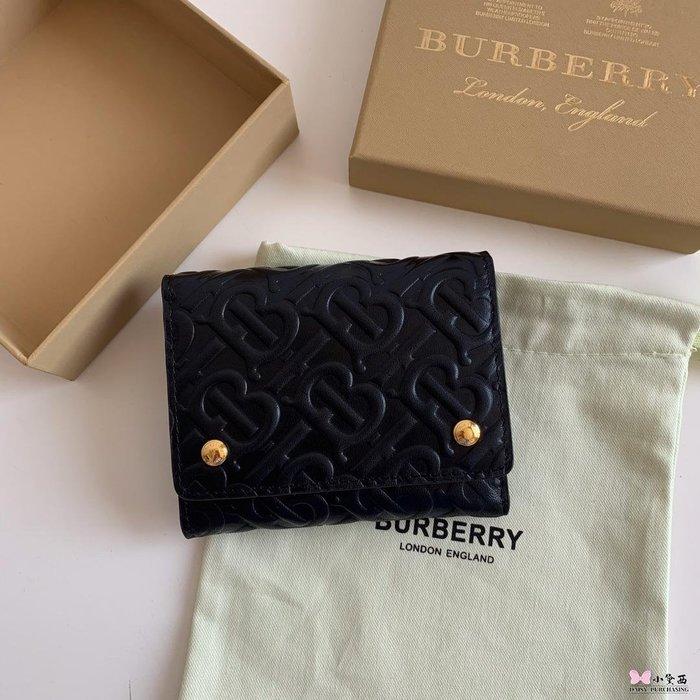 【小黛西歐美代購】Burberry 巴寶莉 2019款 壓花錢包 短夾2 歐美時尚 美國outlet代購