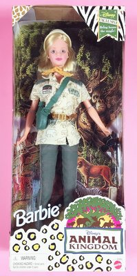 Barbie Animal Kingdom 1998 迪士尼 動物王國 甜美芭比娃娃