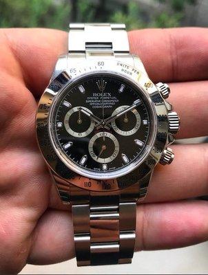 D✚L 正品手錶 ROLEX DAYTONA 116520 勞力士 sold out