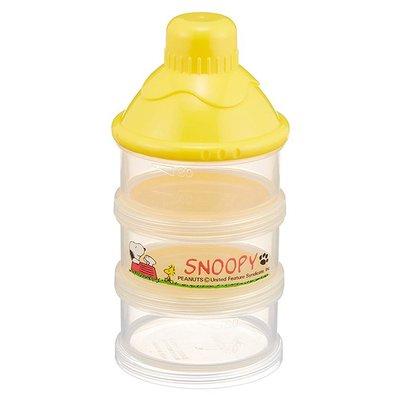 奶粉罐 SNOOPY 史努比 透明 嬰兒 泡奶 3回分 便利 衛生 嬰幼兒用品 罐子 正版日本進口授權