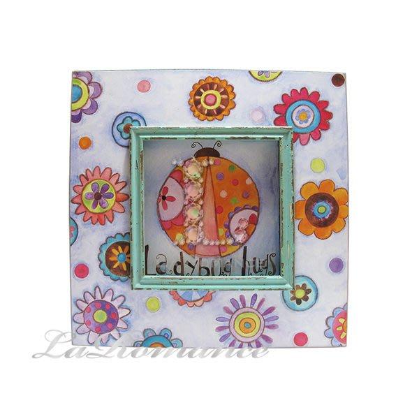 【芮洛蔓 La Romance】花言童語系列 - 小瓢蟲木板畫飾 / 掛飾 / 畫飾