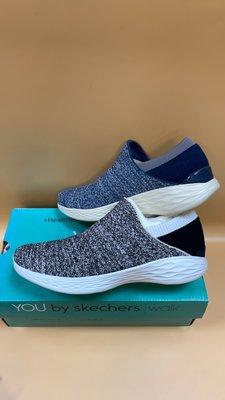 【小黑體育用品】SKECHERS YOU 襪套式 女健走鞋(藍/灰14951NVY 黑白14951WBK清倉零碼降價