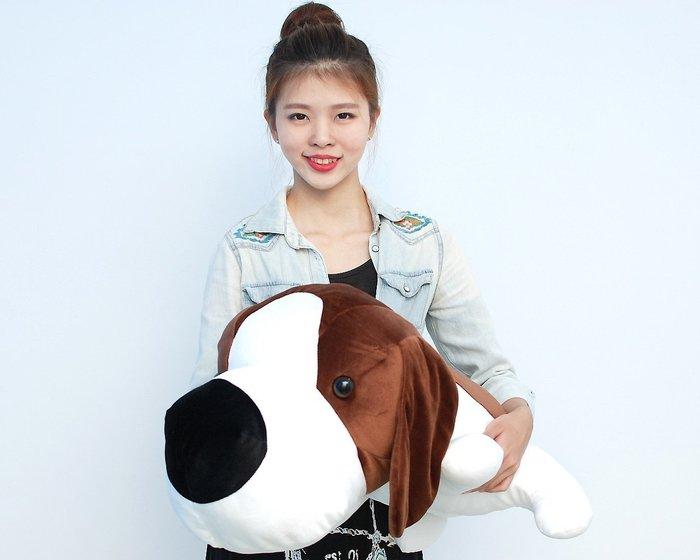 可愛大頭狗娃娃~狗玩偶~狗娃娃~趴姿款狗狗~最新商品~超大狗娃娃~