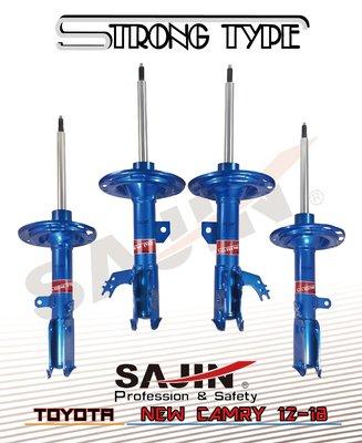 【SAJIN】TOYOTA-CAMRY 12-18 STRONG TYPE 原廠型阻尼加強版改裝避震器