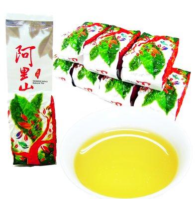 【龍源茶品】阿里山中發酵花果香金萱茶8包組(150g/包 - 共2斤/附提袋)-台灣茶