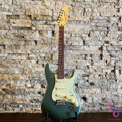 分期免運 贈原廠琴袋 Fender DELUXE ROADHOUSE Strat 墨廠 電 吉他 玫瑰木指板 冰藍色