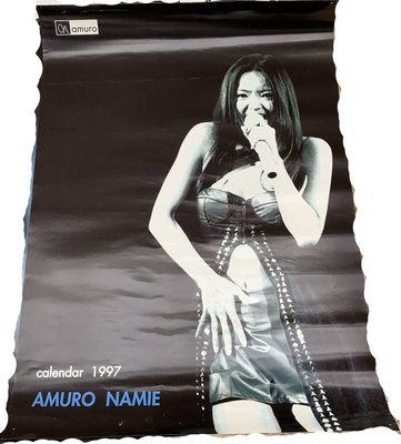 日本帶回~安室奈美惠NAMIE AMURO 早期1997年單張海報 B2尺寸~A款