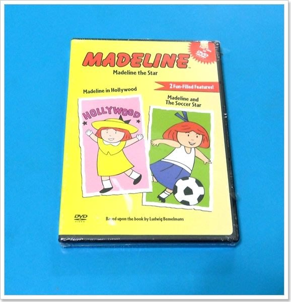 *【英語兒童教育DVD】小pen外文*Madeline 調皮的碼德琳~~ Madeline the Star~~