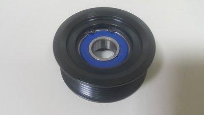 BENZ W211 M112 V6 03-06 皮帶惰輪 (固定用.升級鋁製) 皮帶盤 輪子 0002020919