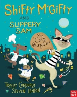 *小貝比的家*SHIFTY McGIFTY AND SLIPPERY SAM:CAT BURGLAR/平裝/3~6歲