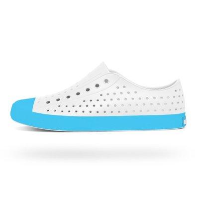 [CABAS滑板店] NATIVE JEFFERSON 白/藍 拼接   白雲藍 防水 透氣 抗菌 輕量