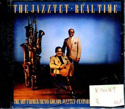 *真音樂* THE JAZZTET REAL TIME 美版 全新 K14047