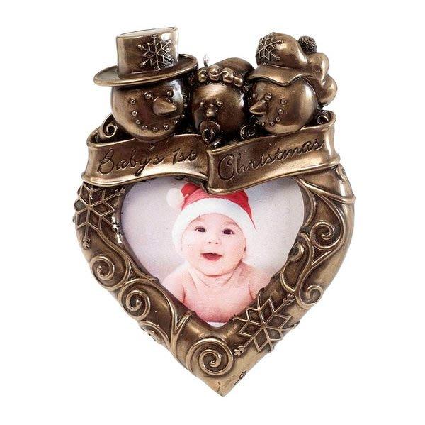 【芮洛蔓 La Romance】Genesis冷鑄銅相框 - Baby's 1st Christmas