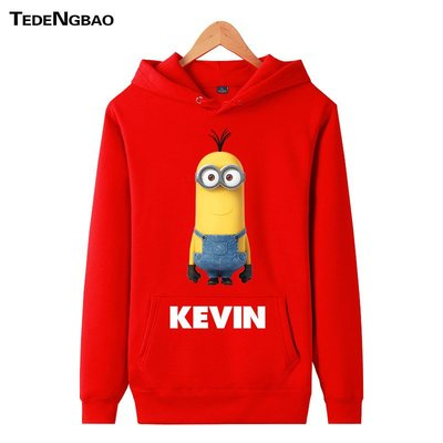 【SeVeN's Shop】精選代購小小兵 KEVIN 凱文 帽T 厚鋪棉質感 重磅盎司 男女 大尺碼 多色 秋冬