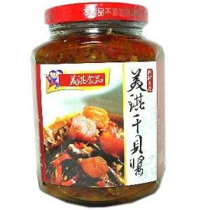 新臺澎美淇干貝醬-玻璃瓶