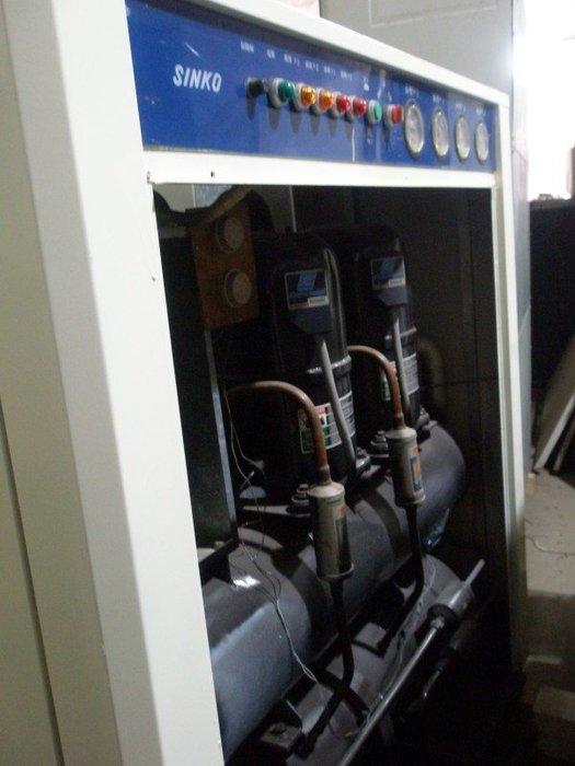 嚴選 中古.二手 10噸水冷冰水機 冷卻機 適於空調 工業製程冷卻 冷氣.熱水熱泵直購6萬