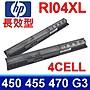 惠普 HP RI04 原廠規格 電池 PB 450 455 47...