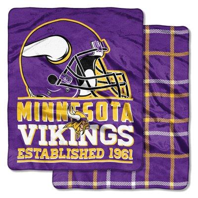 [現貨]美式足球雙面毛毯NFL明尼蘇達維京人Minnesota Vikings Double-Sided空調交換生日禮品
