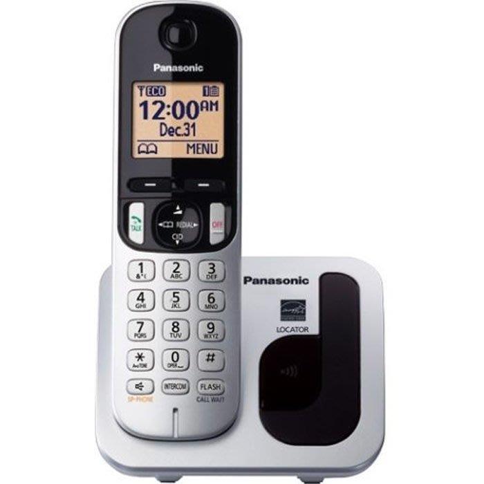 【送充電電池】 Panasonic 國際牌數位DECT 無線電話 KX-TGC210 (松下公司貨)