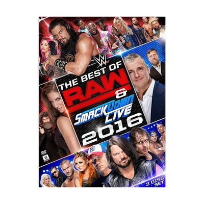 ☆阿Su倉庫☆WWE摔角 The Best of Raw and SmackDown 2016 DVD 2016精選專輯