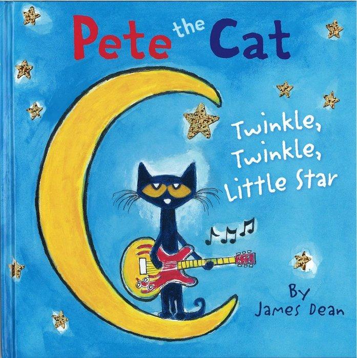 *小貝比的家*PETE THE CAT:TWINKLE, TWINKLE, LITTLE STAR/精裝/3~6歲