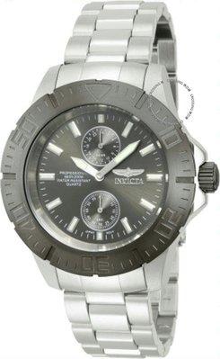 展示品 Invicta 14058 Pro Diver Ocean Baron Gunmetal Bezel Stainless Steel Mens