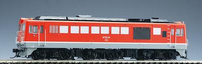 [玩具共和國] TOMIX HO-240 国鉄 DF50形ディーゼル機関車(後期型・朱色・プレステージモデル)