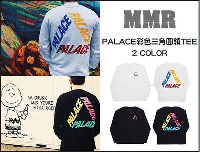 【MMR】PALACE彩色三角LOGO圓領長袖TEE衛衣 優惠699 原價1080