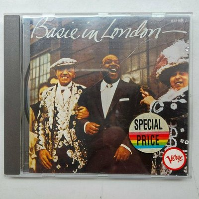 COUNT BASIE IN LONDON  貝西伯爵和他的樂隊 在瑞典哥德堡1956年現場專輯 西德版 有IFPI 寶麗金發行