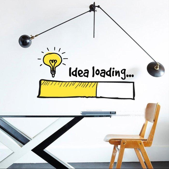創意壁貼標語牆貼家用裝飾辦公室貼紙標識激勵志(大號)_☆優購好SoGood☆