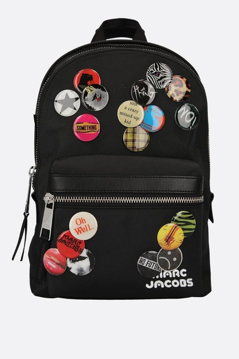 Coco 小舖 MARC JACOBS Trek Pack Medium backpack with pins徽章後背包