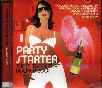 八八 - Party Starter The 15 Tunes That Rocked 2001 - NEW