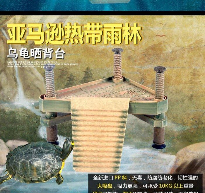 烏龜曬背臺水龜曬臺浮島巴西龜草龜爬臺爬坡龜缸造景