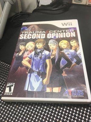 Wii 遊戲片 TRAUMA CENTER SECOND OPINION 神使之杖Z 雙超執刀